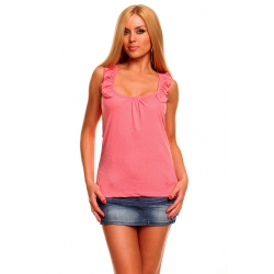 Top Flounce Pink