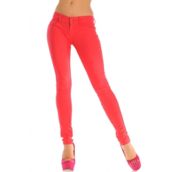 Nohavice Morea red
