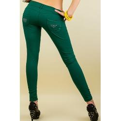 Nohavice Zola green