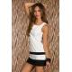 Šaty Sista white