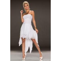 Šaty Pakwa white