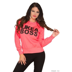 Mikina Boss pink