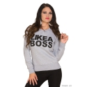 Mikina Boss grey