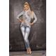 Top Melsa grey