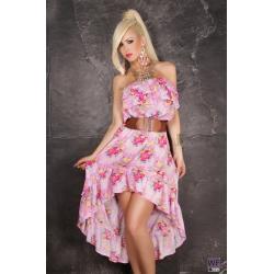 Šaty Bering pink