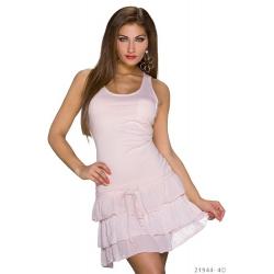 Šaty Debie Pink