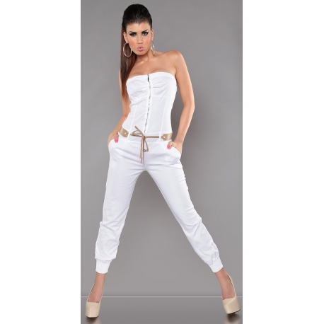 Overal Style White