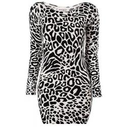 Minišaty Leopard
