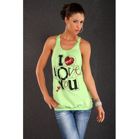 Top Love Green