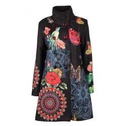 Kabát Patchwork Flower