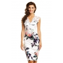 Elegantné šaty Beuty White