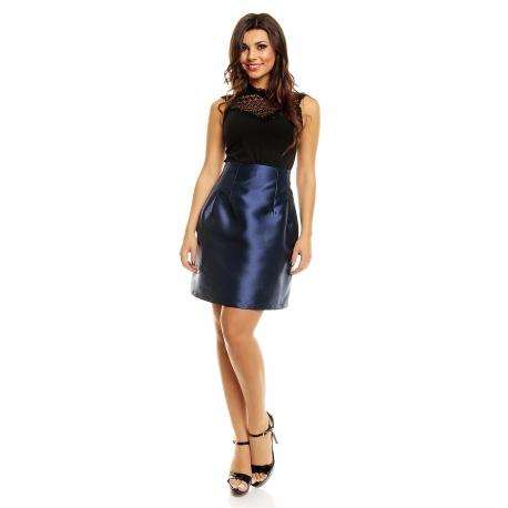 Elegantná sukňa Double Blue