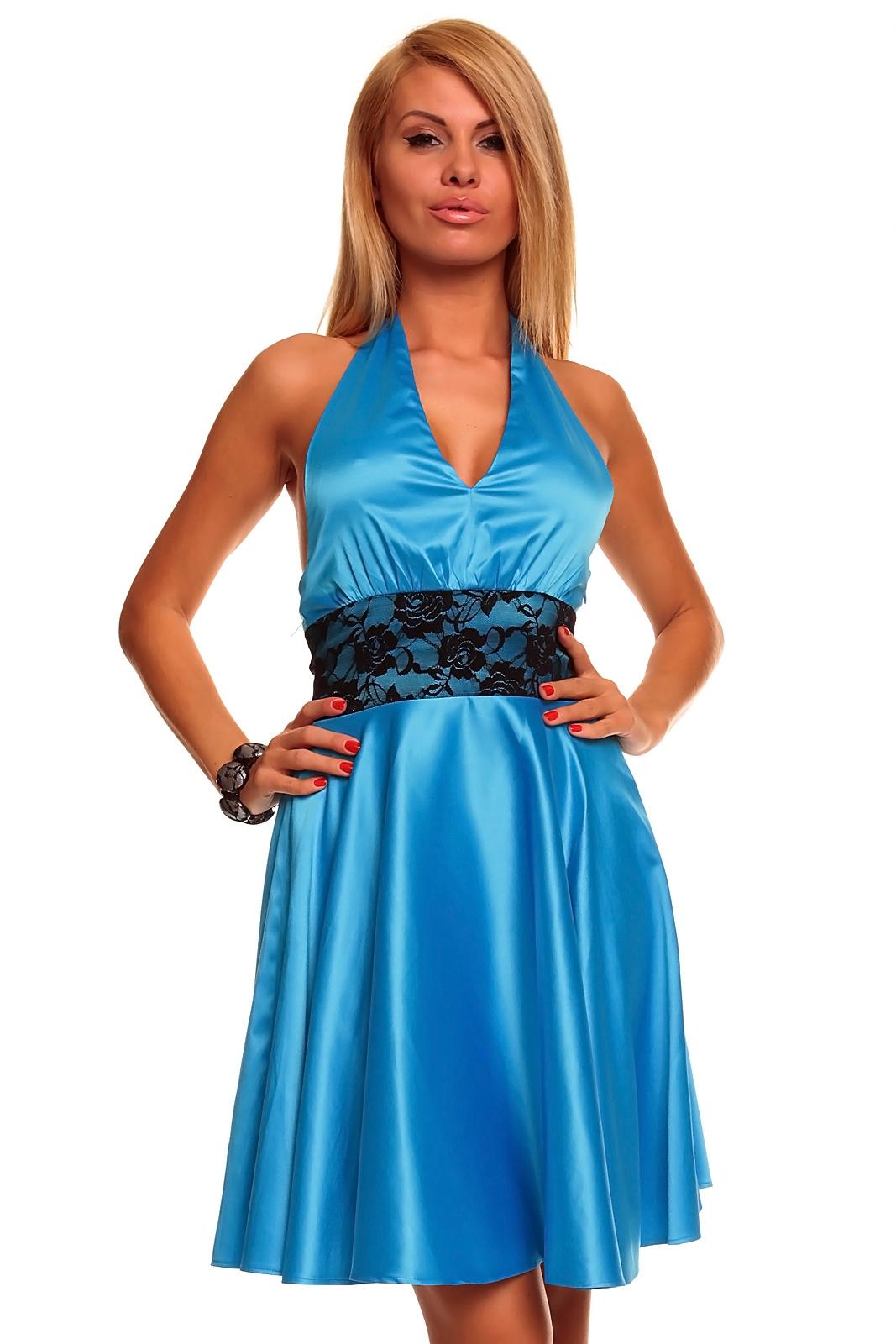 ec5797c9d0a4 Spoločenské šaty modré