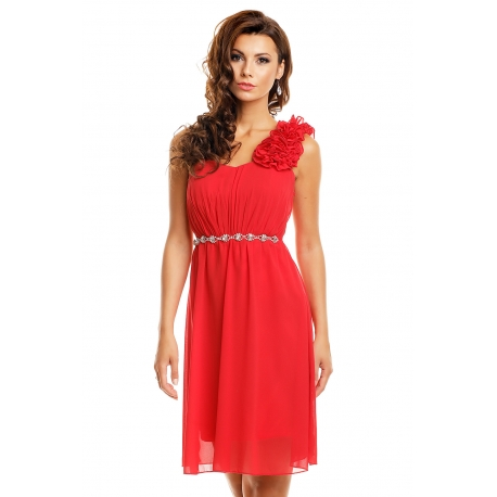 Šaty Emma Dore red