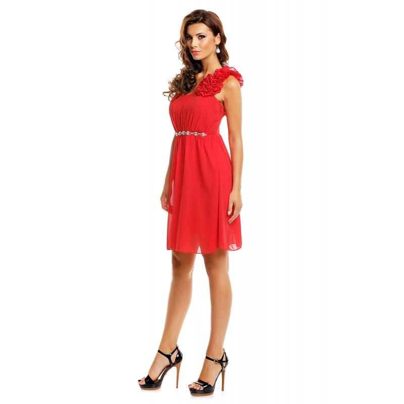 eb2ef6a244c4 krásne červené elegantné šaty
