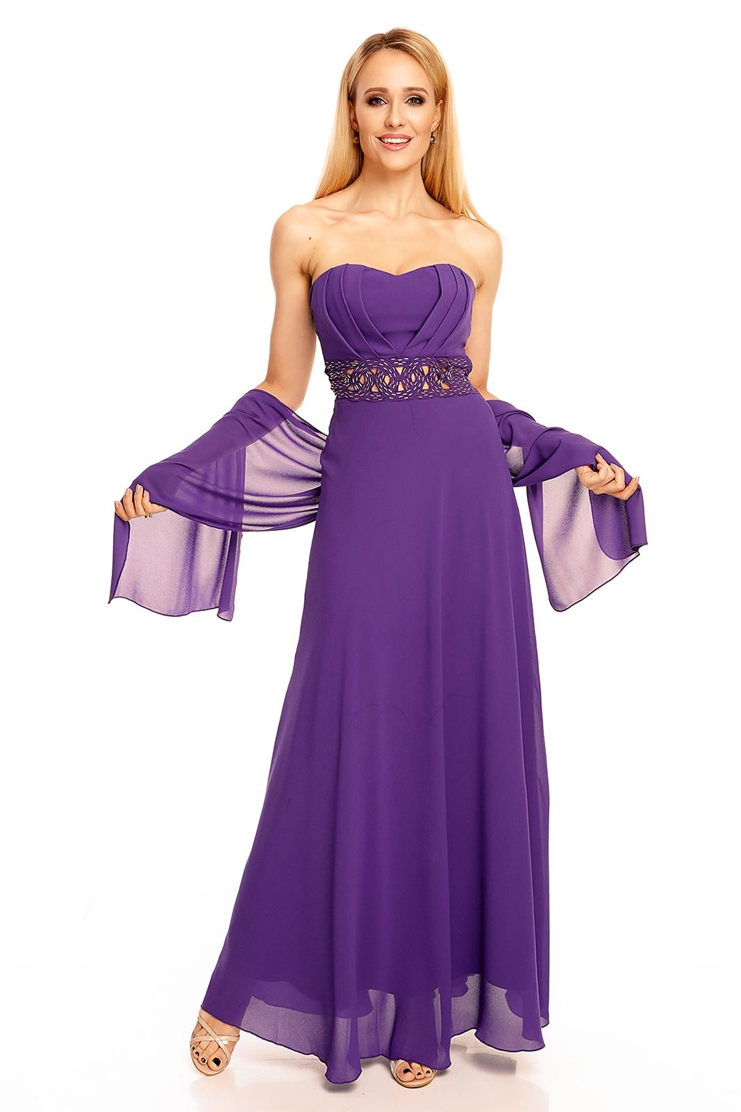 c9f18f83979f fialové purpurové šaty dlhé