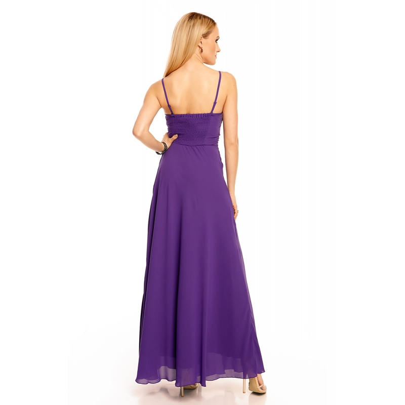 d6470a398ad7 ... Šaty Emma Dore purple dlhé. Ďalšie