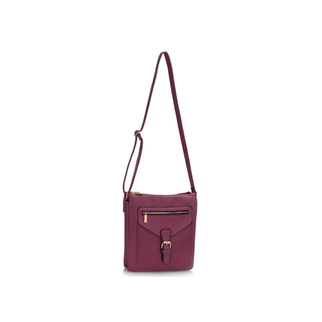 Crossbody kabelka purple
