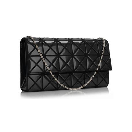 kabelka Flap black čierna