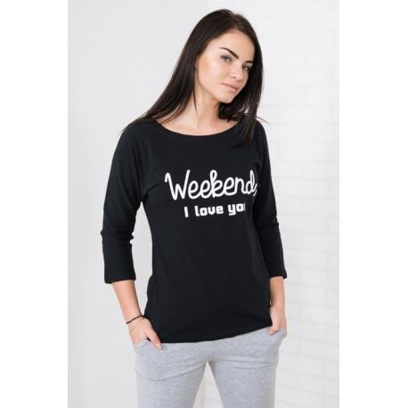 Tričko s 3/4 rukávom Weekend