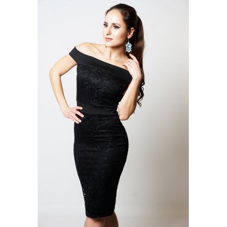 Šaty Caitlin black