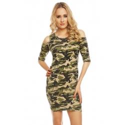 Army šaty Emilie