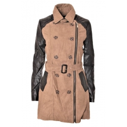 Jarný kabátik Trenchcoat Orice style