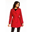 Jarný kabátik Cabba red