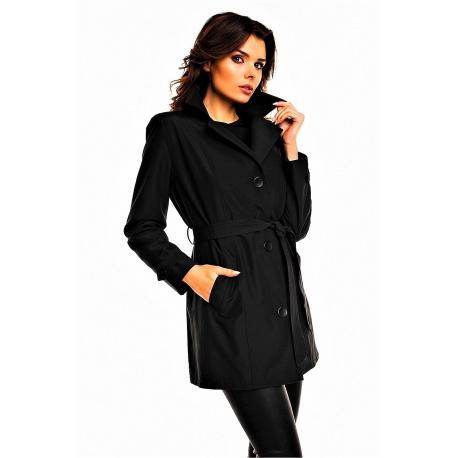 Jarný kabátik Cabba black