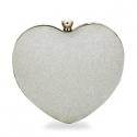 kabelka Heart silver