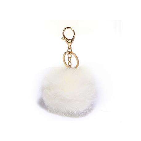 Fluffy ozdoba (čierna,coffee,šedá,biela) na kabelku,kľúče..