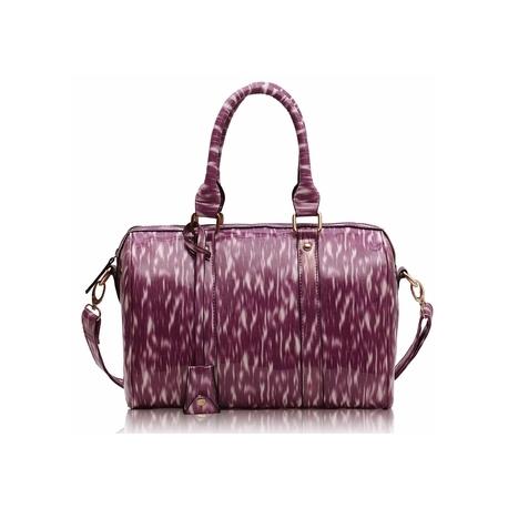 kabelka Barrel purple