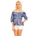 Jeansová bluzka Meggie