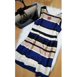 Pásikové šaty