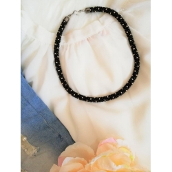 Náhrdelník Čierna elegancia