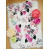 Kvetinkové šaty s volánom