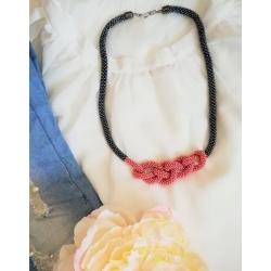 Uzol sivomodrá-ružová