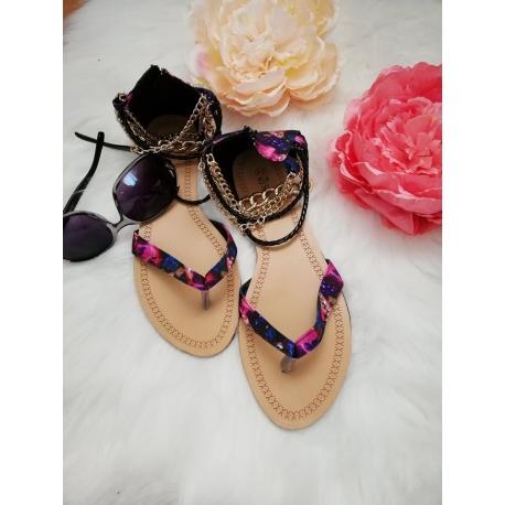 Sandálky farebné