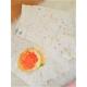 Perličkové  riflové šortky