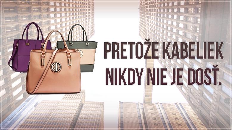 kvalitné kabelky za super ceny čakajú na vás